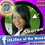 FitLifer of the WEEK on SusieQ FitLife is Sharon