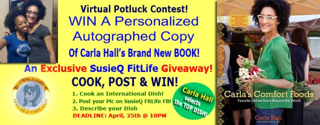 International Virtual Potluck Contest is Done Like DINNER! Carla Hall has done it again but, this time she is taking us around the world with her favorite international dishes! Here's...