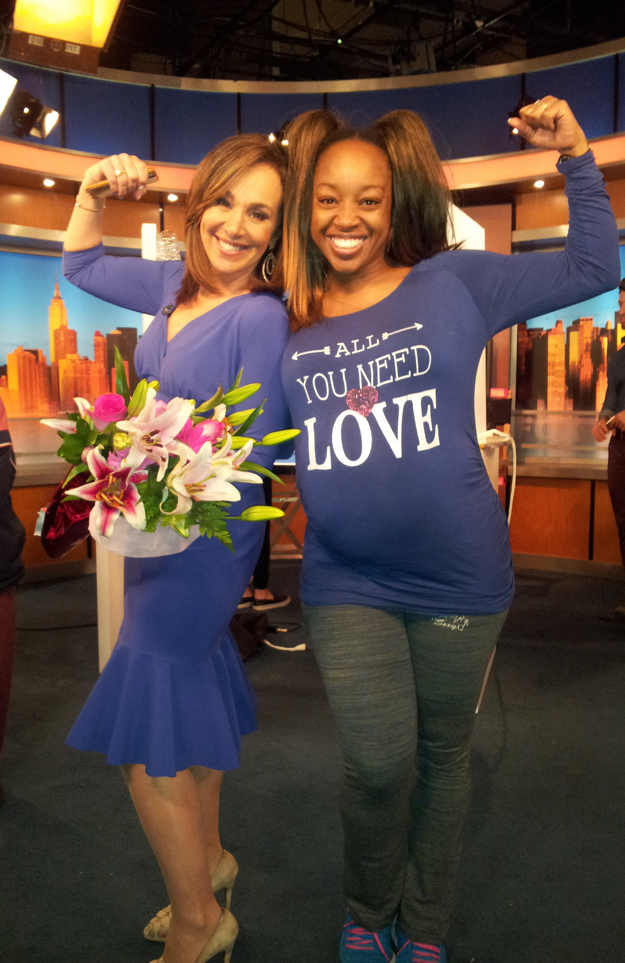 Fox5 Celebrates All Mothers! | SusieQ FitLife